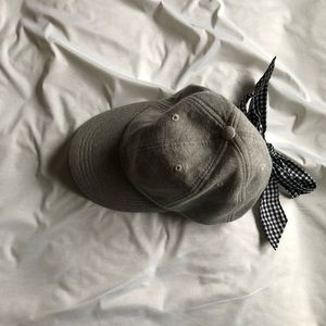 Anthropologie Baseball Cap with Bow